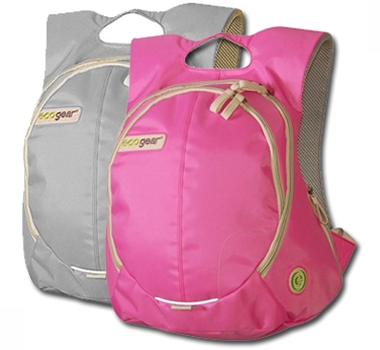 Eco backpack from recycled PET