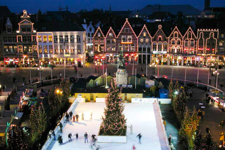 Bruges Christmas Fair Market