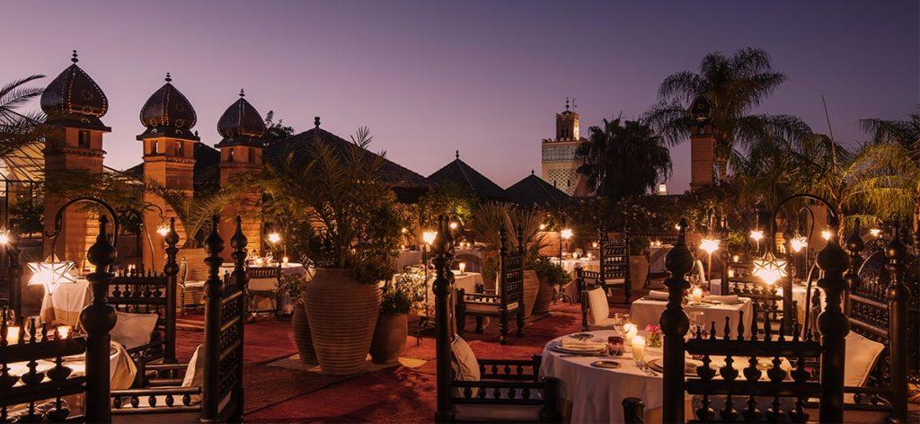 La Sultana Dinner on the roof