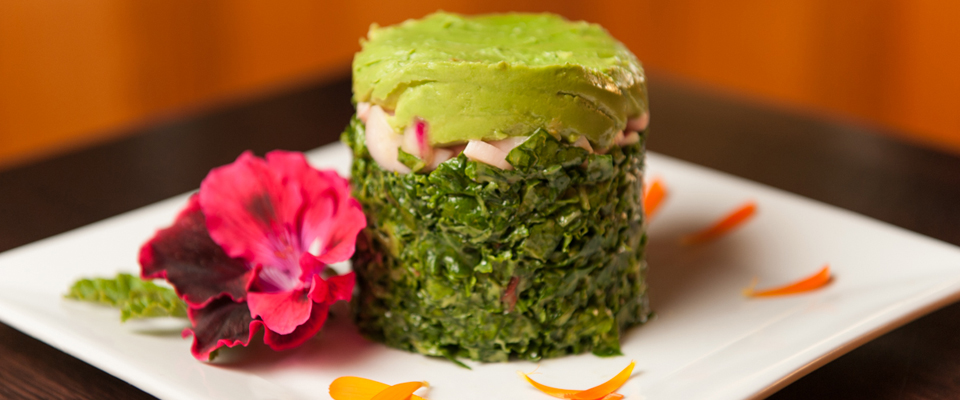 Award-winning plant-based food at Raven's restaurant