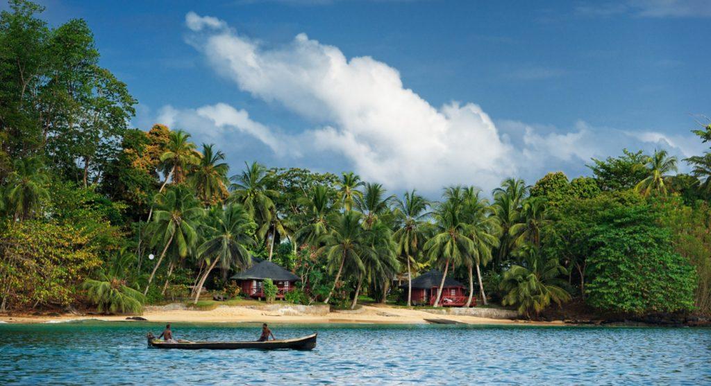 Bom Bom, sustainable resort Principe Island
