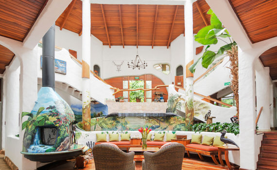 Finca Rosa Blanca is one of the carbon neutral hotels that you can find on Wayaj