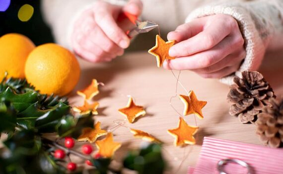 making home made decorations