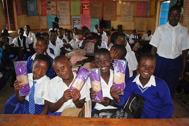 children at school in africa