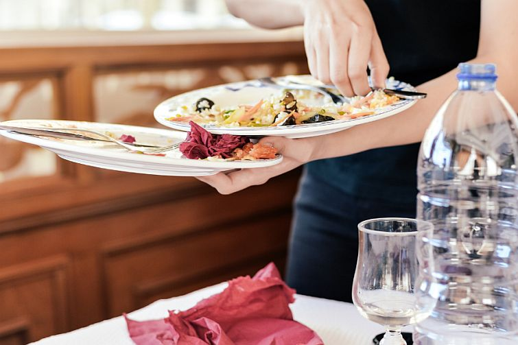 food waste in hotel