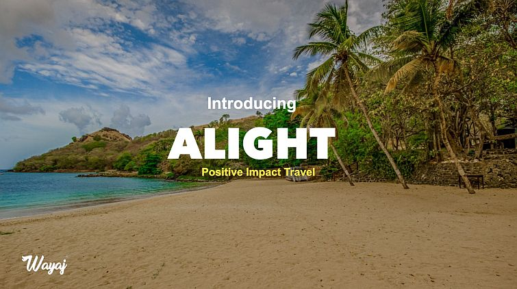 tropical beach for positive impact travel